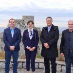 Prof. Denis Bećirović i g. Dževad Hodžić posjetili i dali podršku Almi Muratović pri kandidaturi za Gradonačelnika Grada Srebrenik